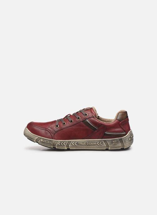 Baskets Mustang shoes 4128301 Bordeaux vue face