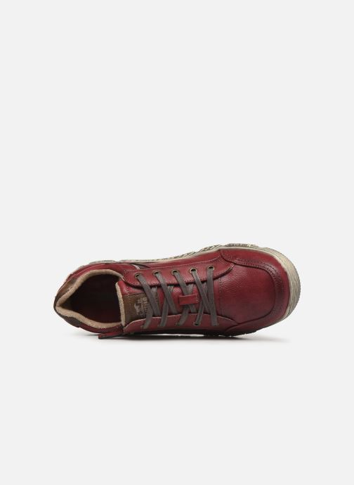 Trainers Mustang shoes 4128301 Burgundy view from the left