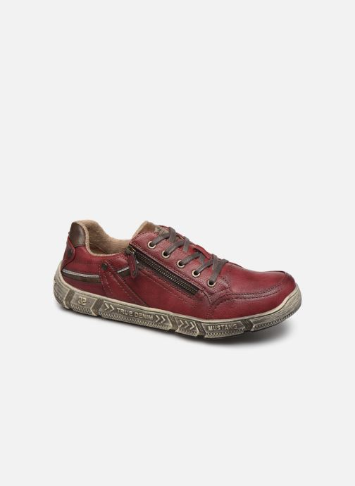 Trainers Mustang shoes 4128301 Burgundy detailed view/ Pair view