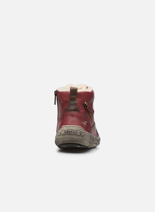 Trainers Mustang shoes 4128601 Burgundy view from the right