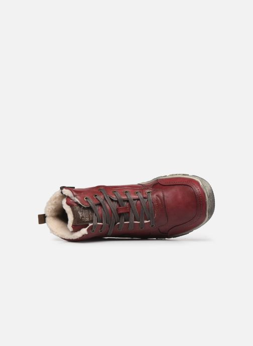 Trainers Mustang shoes 4128601 Burgundy view from the left