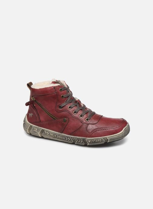 Trainers Mustang shoes 4128601 Burgundy detailed view/ Pair view