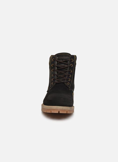 Bottines et boots Mustang shoes 4875503 Noir vue portées chaussures