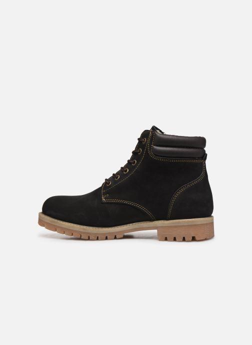 Bottines et boots Mustang shoes 4875503 Noir vue face