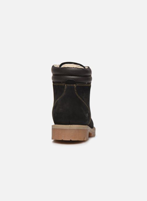 Bottines et boots Mustang shoes 4875503 Noir vue droite