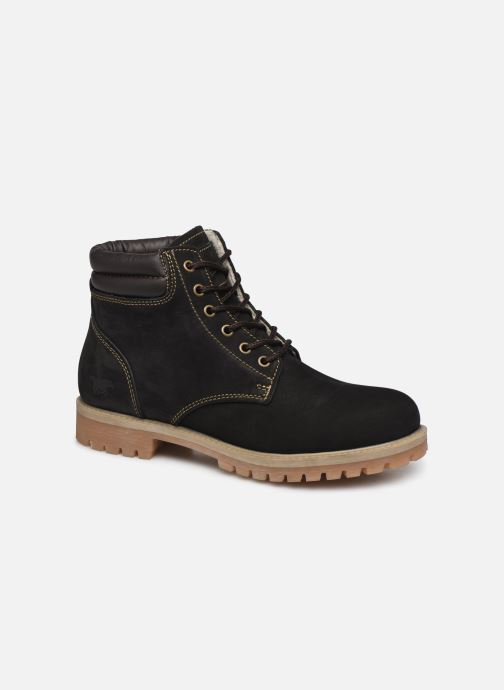 Ankle boots Mustang shoes 4875503 Black detailed view/ Pair view