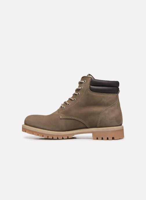 Bottines et boots Mustang shoes 4875503 Gris vue face
