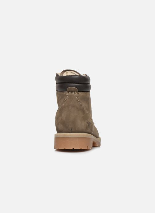 Ankle boots Mustang shoes 4875503 Grey view from the right