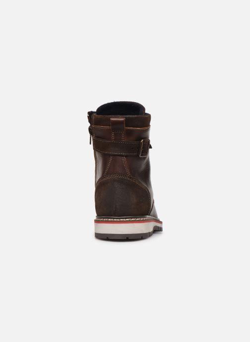 Bottines et boots Mustang shoes Kil1 Marron vue droite