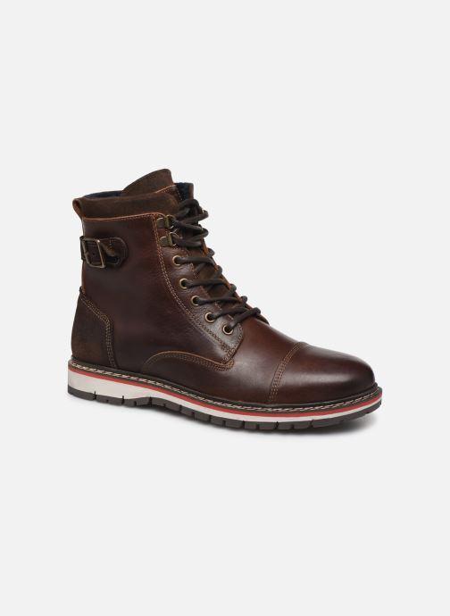 Bottines et boots Mustang shoes Kil1 Marron vue détail/paire