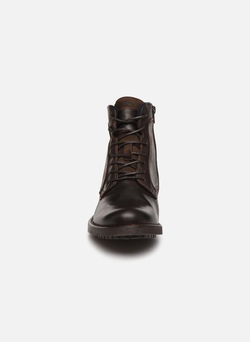 Ankle boots Mustang shoes Jil1 Brown model view