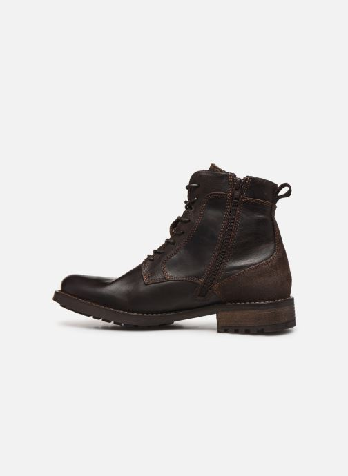 Ankle boots Mustang shoes Jil1 Brown front view