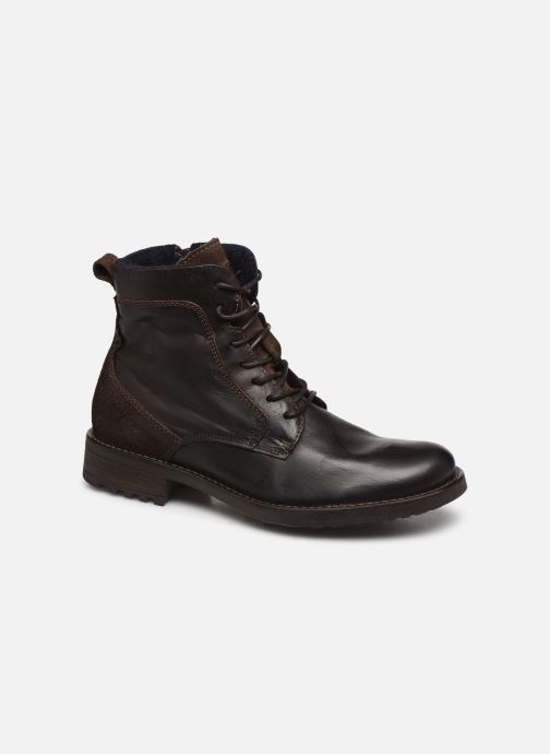 Ankle boots Mustang shoes Jil1 Brown detailed view/ Pair view