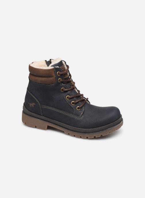 Bottes Mustang shoes 5037608 Bleu vue détail/paire