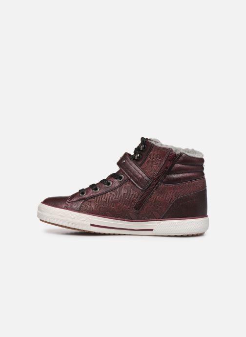 Baskets Mustang shoes Kirsten1 Bordeaux vue face