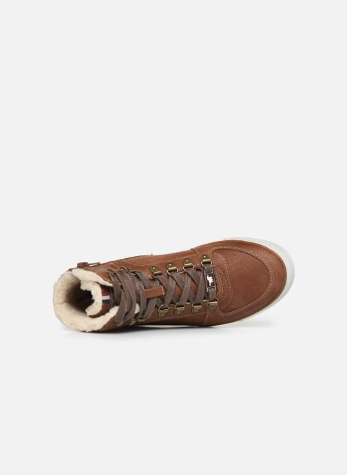 Trainers Mustang shoes 5049610 Brown view from the left