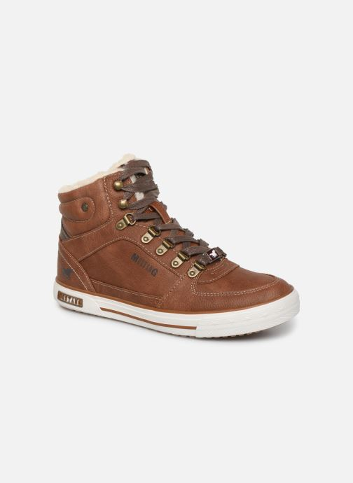 Trainers Mustang shoes 5049610 Brown detailed view/ Pair view