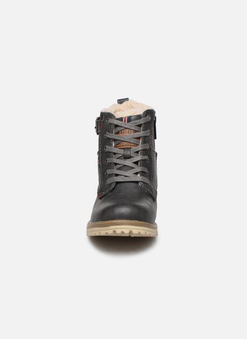 Stiefeletten & Boots Mustang shoes 5051602 grau schuhe getragen