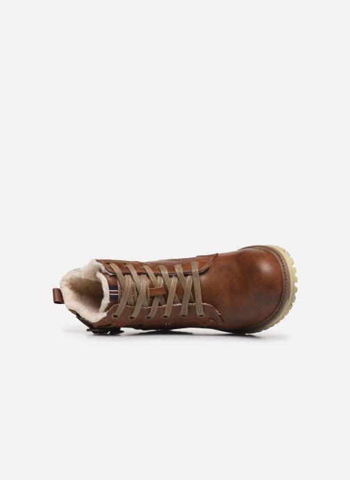 Stiefeletten & Boots Mustang shoes 5051602 braun ansicht von links