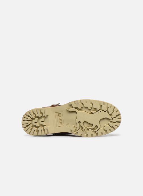 Stiefeletten & Boots Mustang shoes 5051602 braun ansicht von oben