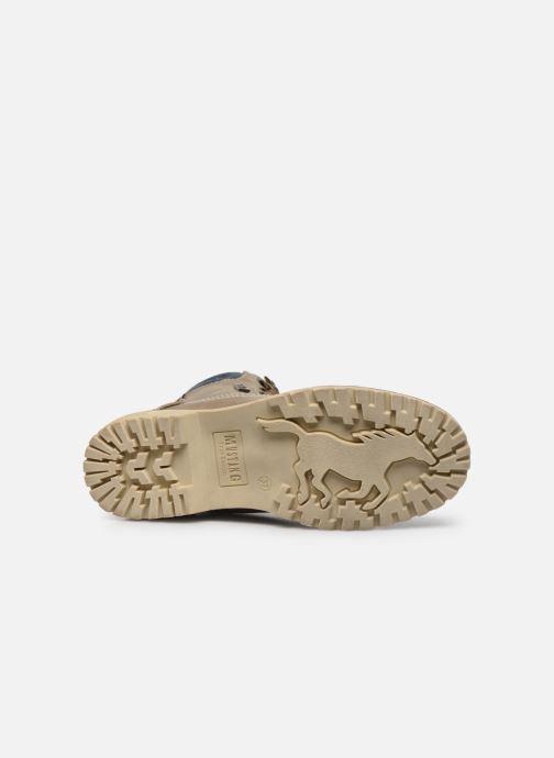 Bottines et boots Mustang shoes Lutgard1 Beige vue haut