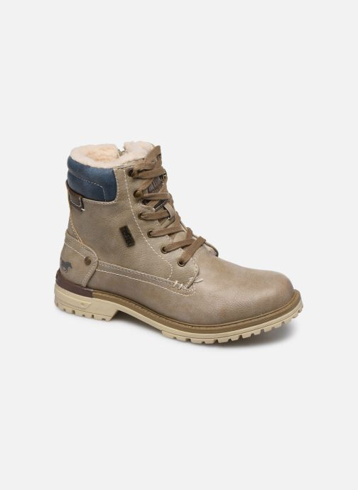 Bottines et boots Mustang shoes Lutgard1 Beige vue détail/paire