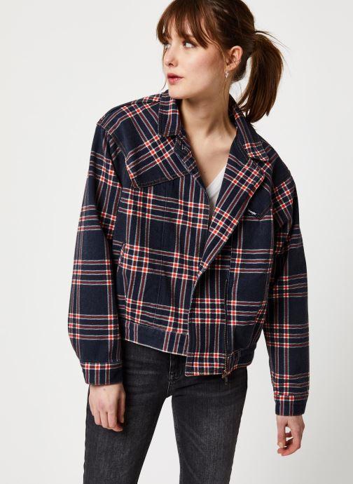Vêtements Wrangler 80S JACKET Bleu vue détail/paire