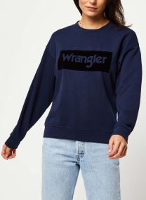 HIGH RIB RETRO SWEAT LOGO
