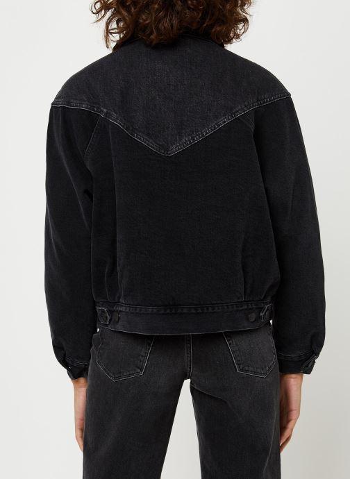Grande Vente Wrangler Veste en jean80S Sherpa Jkt Noir Vêtements 420675 ydfuH216F5D02KSD Vêtements Femme