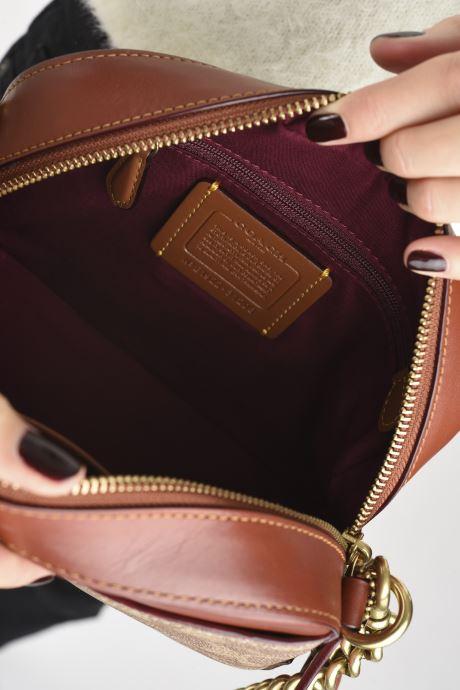 Borse Coach Camera Bag Marrone immagine posteriore