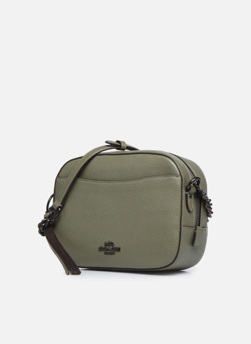 Sacs à main Coach Camera Bag Vert vue portées chaussures