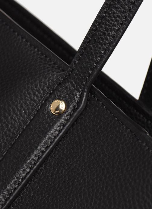 Bolsos de mano Coach Central Tote With Zip Negro vista lateral izquierda