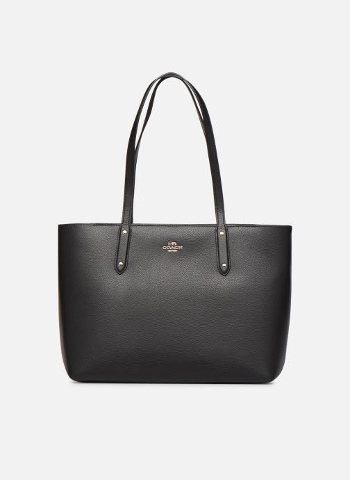 Sacs à main Coach Central Tote With Zip Noir vue détail/paire