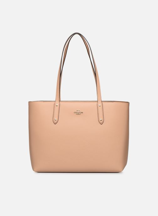 Sacs à main Coach Central Tote With Zip Beige vue détail/paire