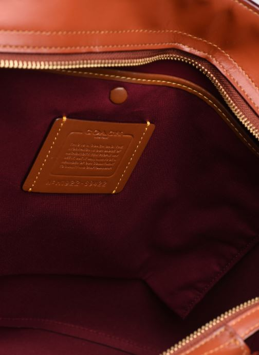 Handtaschen Coach Central Tote With Zip braun ansicht von hinten