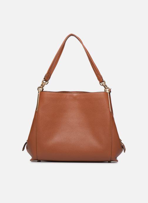 Handtaschen Coach Dalton 31 Shoulder Bag braun ansicht von vorne