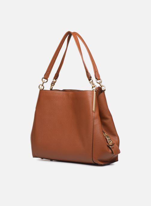 Handtaschen Coach Dalton 31 Shoulder Bag braun ansicht von rechts
