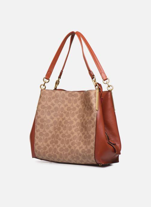 Handtaschen Coach Dalton 31 Shoulder Bag braun schuhe getragen