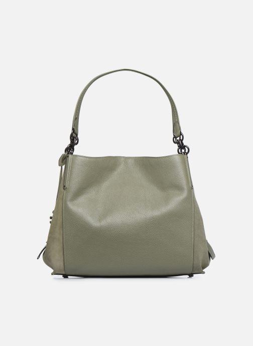 Handtaschen Coach Dalton 31 Shoulder Bag grün ansicht von vorne