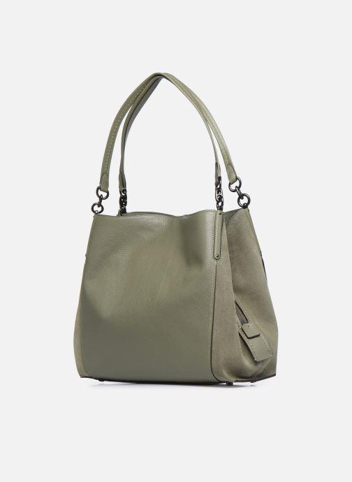 Handtaschen Coach Dalton 31 Shoulder Bag grün ansicht von rechts