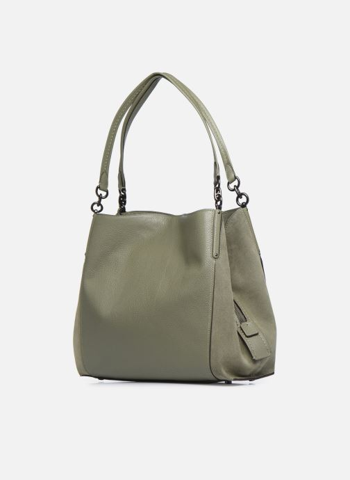 Bolsos de mano Coach Dalton 31 Shoulder Bag Verde vista lateral derecha