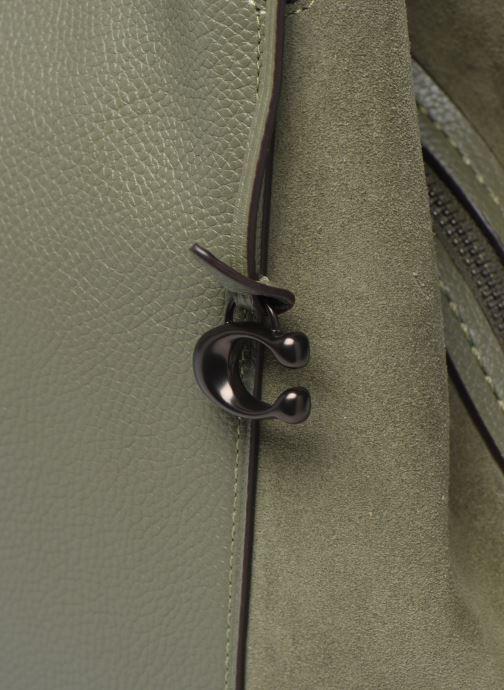 Handtaschen Coach Dalton 31 Shoulder Bag grün ansicht von links