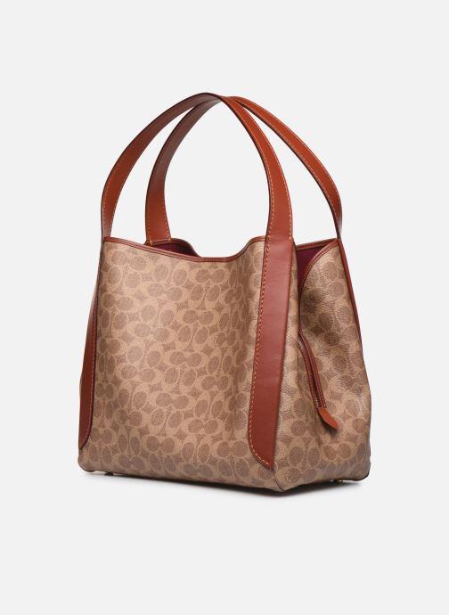 Handtaschen Coach Hadley Hobo braun schuhe getragen