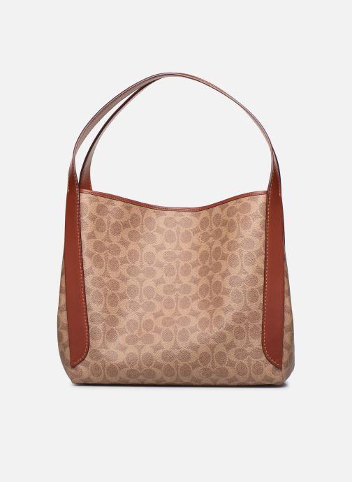 Handtaschen Coach Hadley Hobo braun ansicht von vorne