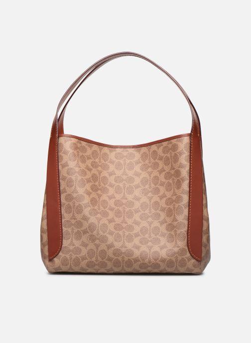 Handtaschen Coach Hadley Hobo braun detaillierte ansicht/modell
