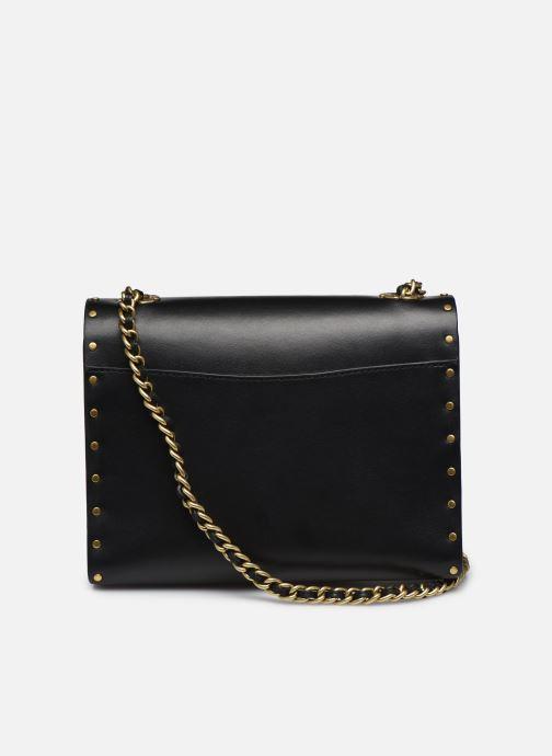 Bolsos de mano Coach Parker 18 Shoulder Bag Negro vista de frente