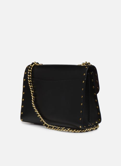 Bolsos de mano Coach Parker 18 Shoulder Bag Negro vista lateral derecha