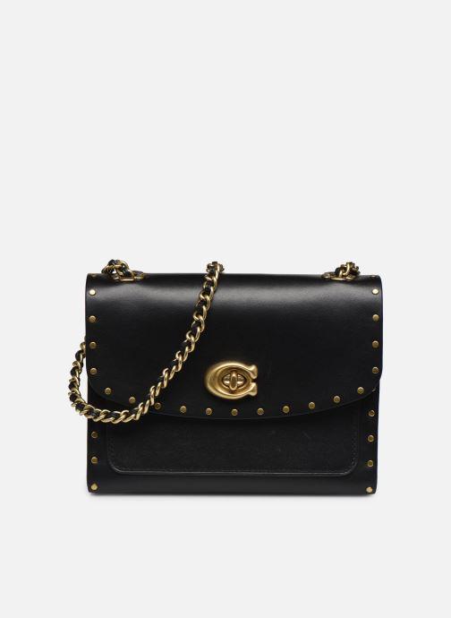 Bolsos de mano Coach Parker 18 Shoulder Bag Negro vista de detalle / par