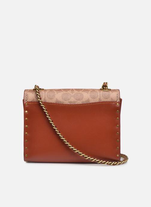Handtaschen Coach Parker 18 Shoulder Bag braun ansicht von vorne