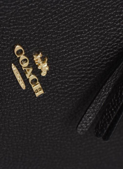 Bolsos de mano Coach Sutton Crossbody Negro vista lateral izquierda
